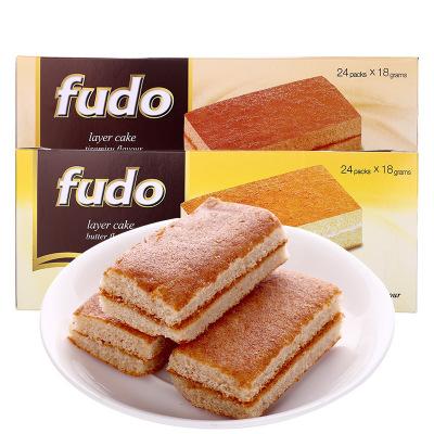 马来西亚进口零食Fudo福多提拉米苏味蛋糕432g*2盒点心西式小面包【提拉米苏】