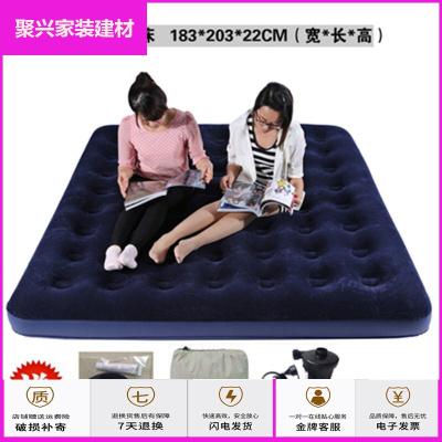 蘇寧放心購氣墊床 戶外充氣床雙人氣墊床單人家用床折疊午休床帳篷便攜沖氣床墊簡約新款