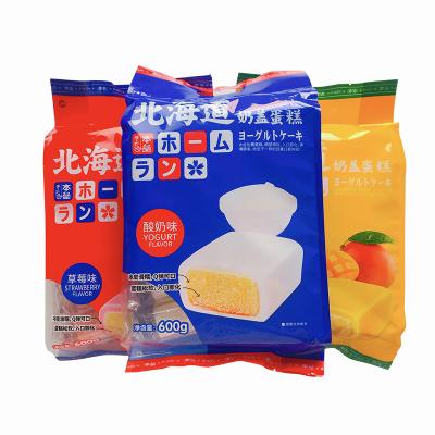 日本北海道奶盖蛋糕早餐下午茶600g西式冰皮夹心蛋糕办公室休闲糕点