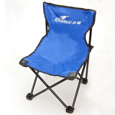 尚龍(SHANGLONG) 折疊沙灘椅凳 戶外休閑折疊椅凳 雙層牛津布金屬支桿釣魚椅凳帶便攜包