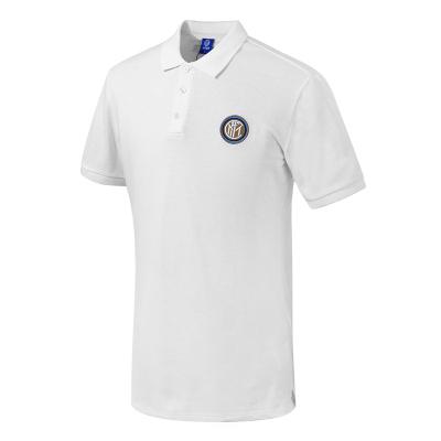 国际米兰俱乐部Inter Milan19年棉质T恤新品夏季男士短袖官方运动休闲潮流翻领经典刺绣POLO衫修身版型