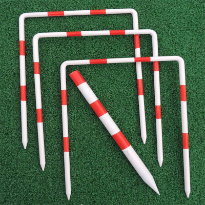 运动户外球用品球柱球杆配套三一柱比赛洞601113放心购