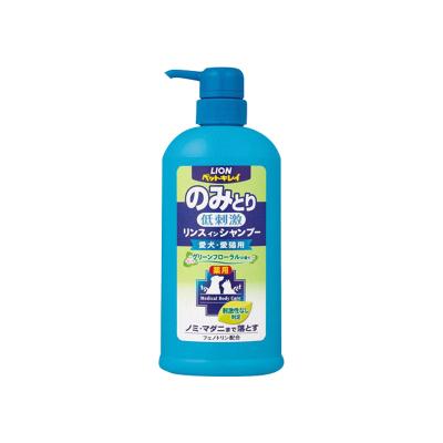 獅王(LION) 艾寵 貓犬共用低刺激洗澡香波浴液 清新花香550ml