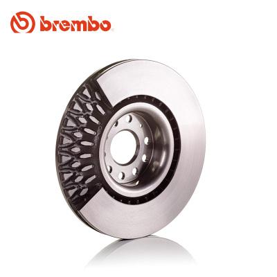 布雷博(brembo)前刹车盘09.9574.11适用于索纳塔名图酷派K4/K5狮跑佳乐