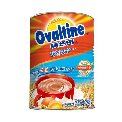 阿华田(Ovaltine)可可粉 营养多合一 早餐代餐 奶茶冲饮 蛋白型固体饮料 罐装400g