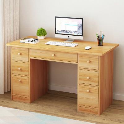 腾煜雅轩 人造板式书房家具 电脑台式桌家用简约现代简易单人学生写字台卧室小桌子经济型书桌 写字台