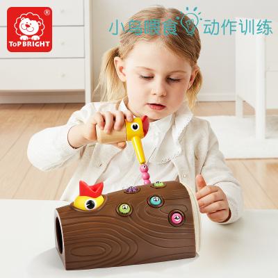 特宝儿(topbright)啄木鸟捉虫游戏儿童玩具男孩女孩 早教益智玩具 120392