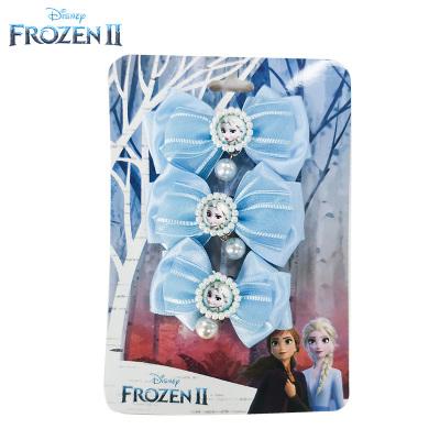 迪士尼正版授權白雪公主睡美人冰雪奇緣2艾莎女王發飾蝴蝶結發圈