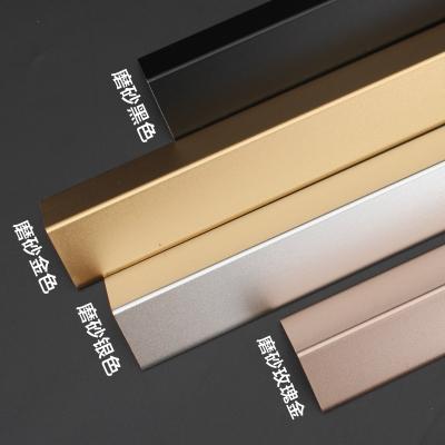 鋁合金護角條裝修護墻角保護條墻護角包角防撞陽角墻紙收邊條線貼 珠光白色2.0寬 1.2m