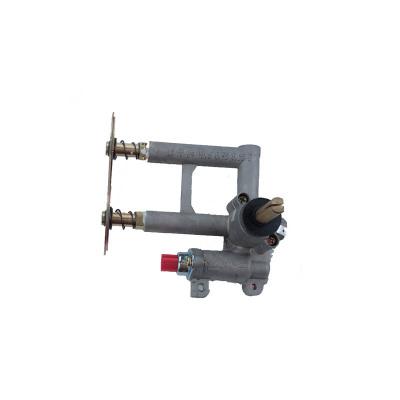 帮客材配 法迪欧燃气灶阀体(液化气)JZY-2B06(含电磁阀、喷嘴)