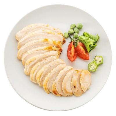 【苏宁生鲜】凤祥食品(Fovo Foods)优形电烤鸡胸肉片(经典原味)100g 国产速冻禽肉(袋装)