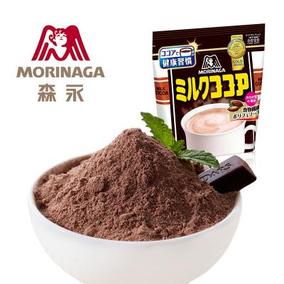 森永日本進口牛奶可可粉臟臟包烘焙蛋糕原料巧克力沖飲品300g袋裝