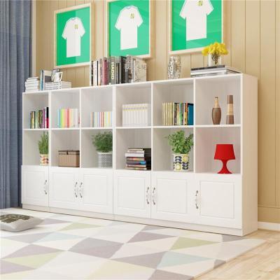 顧致書柜柜子自由組合儲物柜帶書柜書架簡約現代置物柜客廳書柜書櫥