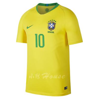 新品現貨NIKE世界杯巴西主場球衣10號內馬爾BV3244-749