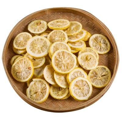 安岳檸檬片100g 拍2份送50g共發250g泡水非凍干檸檬片新鮮檸檬干泡茶