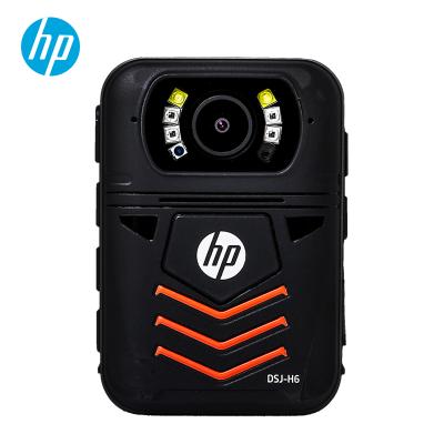 惠普(hp)DSJ-H6执法记录仪安霸A12高清红外1440P便携防爆现场记录仪 官方标配64G
