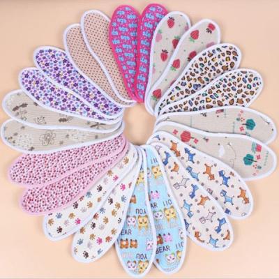 【五/十双装】棉布儿童鞋垫宝宝小孩鞋男孩女孩成人鞋垫夏季冬季