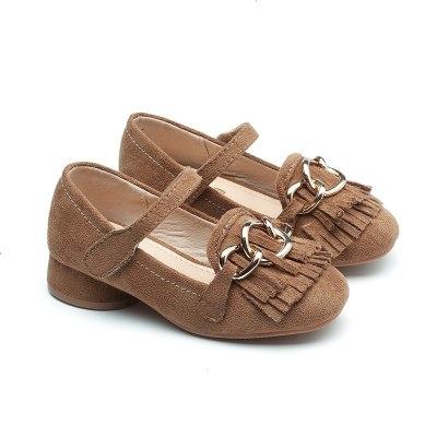 童鞋女童皮鞋公主鞋中大童女孩儿童单鞋软底透气断码清仓不退单鞋