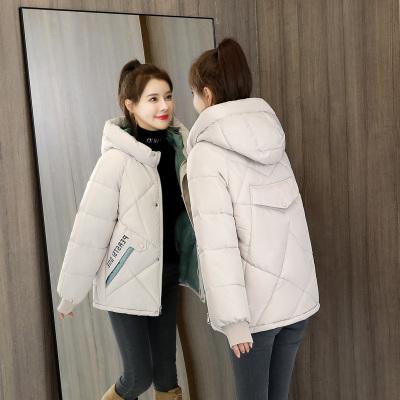 反季棉衣女短款2020冬季新款加厚羽絨棉服韓版寬松面包服棉襖外套