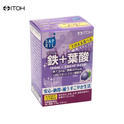 ITOH 井藤汉方 30日份叶酸亚铁粉 30袋/盒
