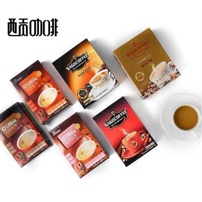 越南进口 西贡咖啡 6口味三合一速溶经典原味特浓奶香醇香炭烧味混合口味