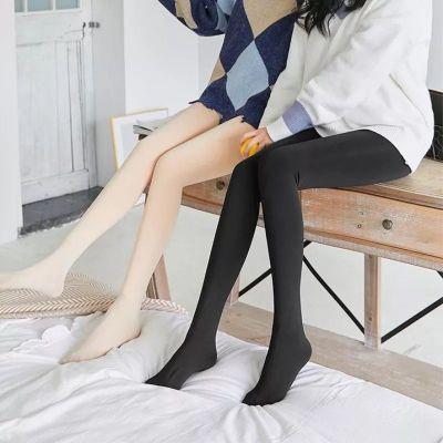 光腿高腰膚色常規打底褲連褲襪神器秋秋季女外穿肉色保暖褲子 衫伊格(shanyige)
