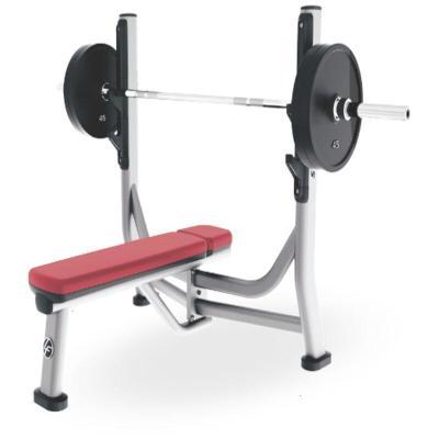 因樂思(YINLESI)水平推舉椅健身房水平健身椅舉重床臥推器材 不含圖中奧桿和片