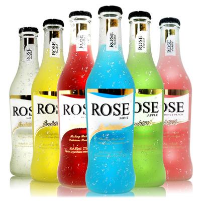 果味洋酒ROSE雞尾酒(預調酒)混合味275ml*6支禮盒裝 新老包裝交替發貨