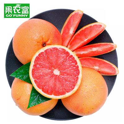果農富 南非進口紅心西柚 6個 單果約300-400g 新鮮水果葡萄柚孕婦水果
