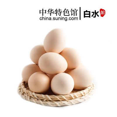【中华特色】白水馆 芦花鸡鸡蛋 30枚/1盒 林间散养 西北