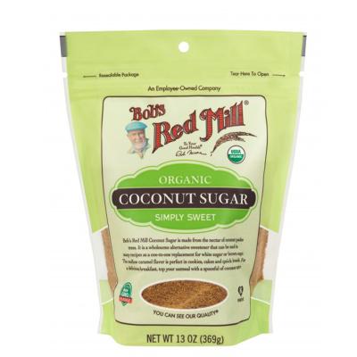 美國原裝進口 鮑勃紅磨坊(Bob'sRedMill) 椰子糖粉椰子糖霜烘焙原料椰糖粉 369g