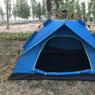 帐篷户外3-4人 自动全加厚防雨2人野营野外帐篷