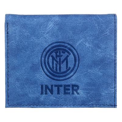 国际米兰俱乐部Inter Milan官方简约LOGO银行卡套小巧仿皮短款卡夹