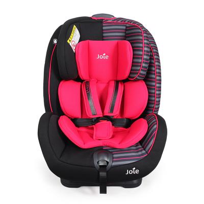 巧兒宜(JOIE) 英國兒童嬰兒安全座椅0-7歲雙向安裝可躺汽車用嬰兒座椅 C0925 適特捷 條紋紅