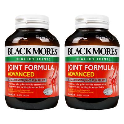 澳佳宝(Blackmores)氨糖维骨力软骨素加强版关节灵120片*2 瓶/400g 澳洲进口 骨胶原蛋白