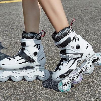 轮滑鞋男成年溜冰鞋女滑冰鞋滑轮鞋旱冰鞋大学生专业平花鞋成人直排轮轮滑鞋