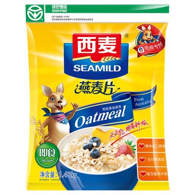西麦(SEAMILD) 早餐谷物 即食燕麦片1480g/袋