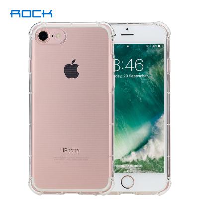 洛克(ROCK)iPhone6/7/8晶盾系列手机壳透明全包防摔防尘?;ぬ灼还?/8通用个性软壳