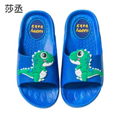 恐龍兒童拖鞋夏男童幼兒親子男室內家用女童防滑涼拖鞋小孩女寶寶
