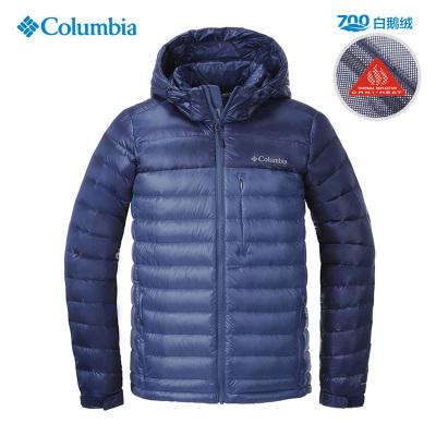 哥倫比亞(Columbia)戶外男裝熱能反射700蓬白鵝絨羽絨服PM5397