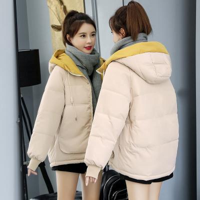 有怡棉服女短款冬季2019新款韩版ins面包服棉袄宽松加厚棉衣外套