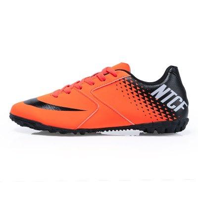 【蘇寧星選】足球鞋TF碎釘人工成人兒童足球鞋男童女童訓練鞋小球鞋T 邁詩蒙