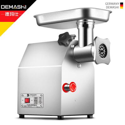 德玛仕 DEMASHI 绞肉机 商用 切肉机家用 灌肠机 电动搅拌机 不锈钢搅肉机 YF-JR12