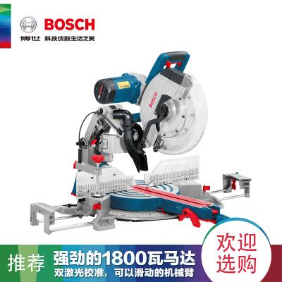 博世(BOSCH)鋁材型轉臺式斜切割機12寸界鋁機鋸鋁機介鋁機GCM12GDL