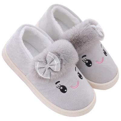 坐月子鞋春秋季包跟产后室内厚底孕妇软底秋冬季产妇棉拖鞋冬天女
