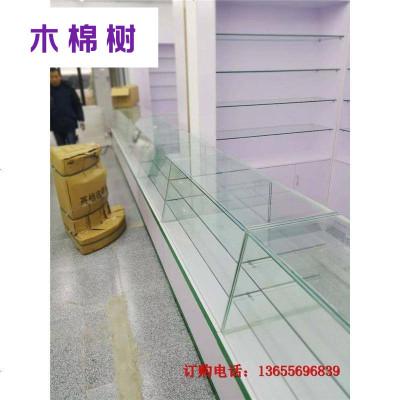 安徽宏章货架合肥药房专用柜 柜透明玻璃柜