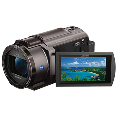 索尼(SONY)FDR-AX40/BCCN1攝像機+原裝相機包 約829萬像素 4K高清數碼攝像機 5軸防抖3英寸顯示屏