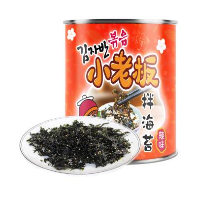 小老板海苔辣味拌饭海苔50g拌包饭海苔寿司即食海苔儿童辅食 配饭好搭档