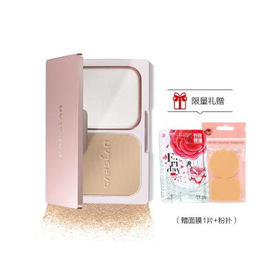 卡姿蘭(CARSLAN) 恒麗透明粉餅02淺膚色(粉質細膩 貼合肌膚 定妝持久)