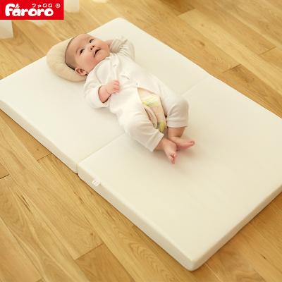 Faroro婴儿床垫5cm厚度固棉床垫 实木床床垫可折叠便携式棉垫L